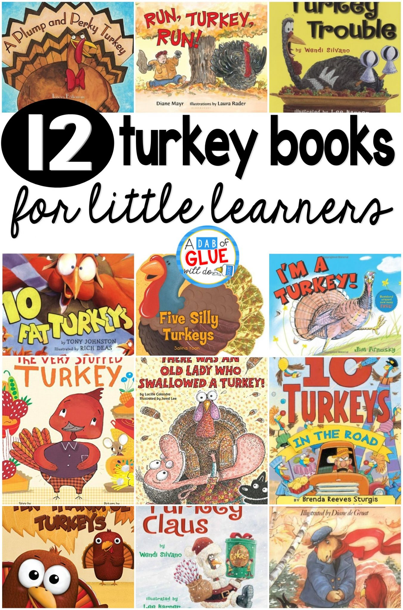 12 Turkey Books For Little Learners
