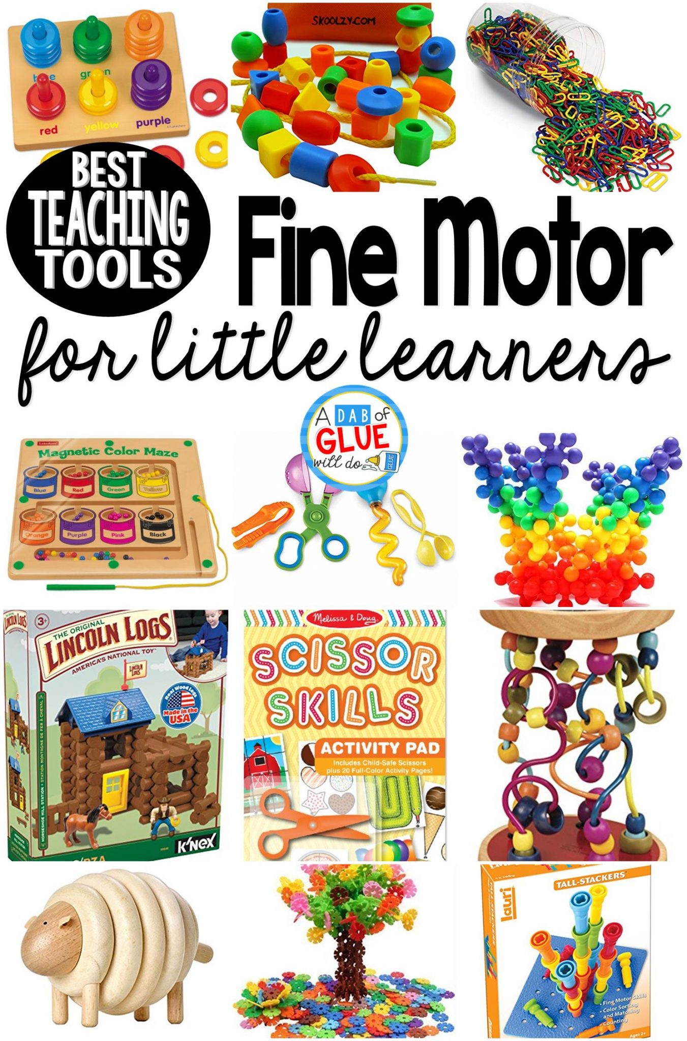 Best Fine Motor Teaching Tools for Little Learners - A Dab ...