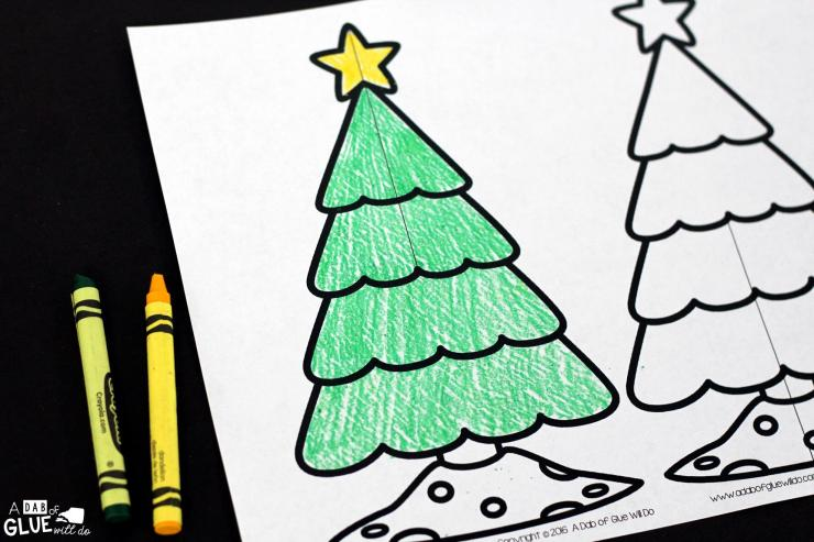 Creative Writing Prompts For Under The Tree at Christmas are ideal for early learners! This printable is a great choice for Kindergarten to Second Grade!