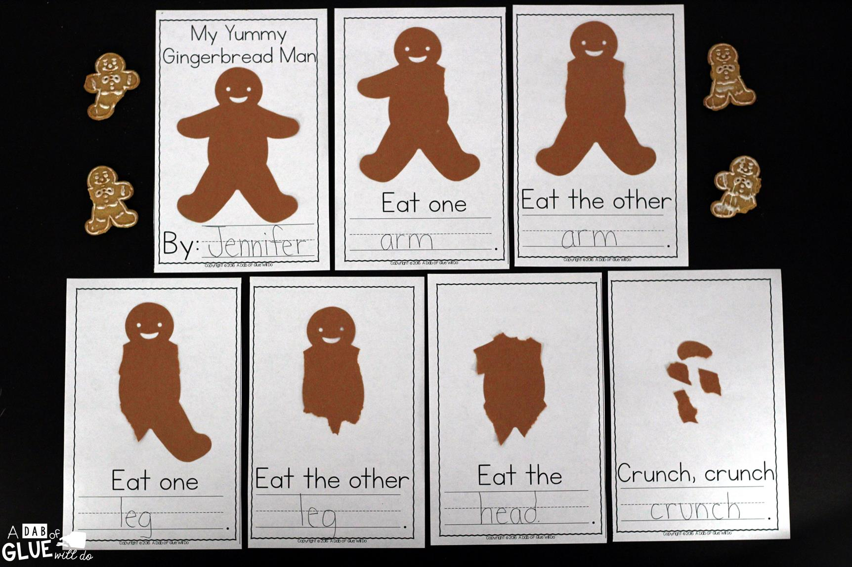 My Yummy Gingerbread Man Book