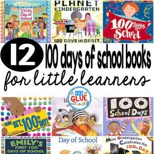 100 Days of School Books