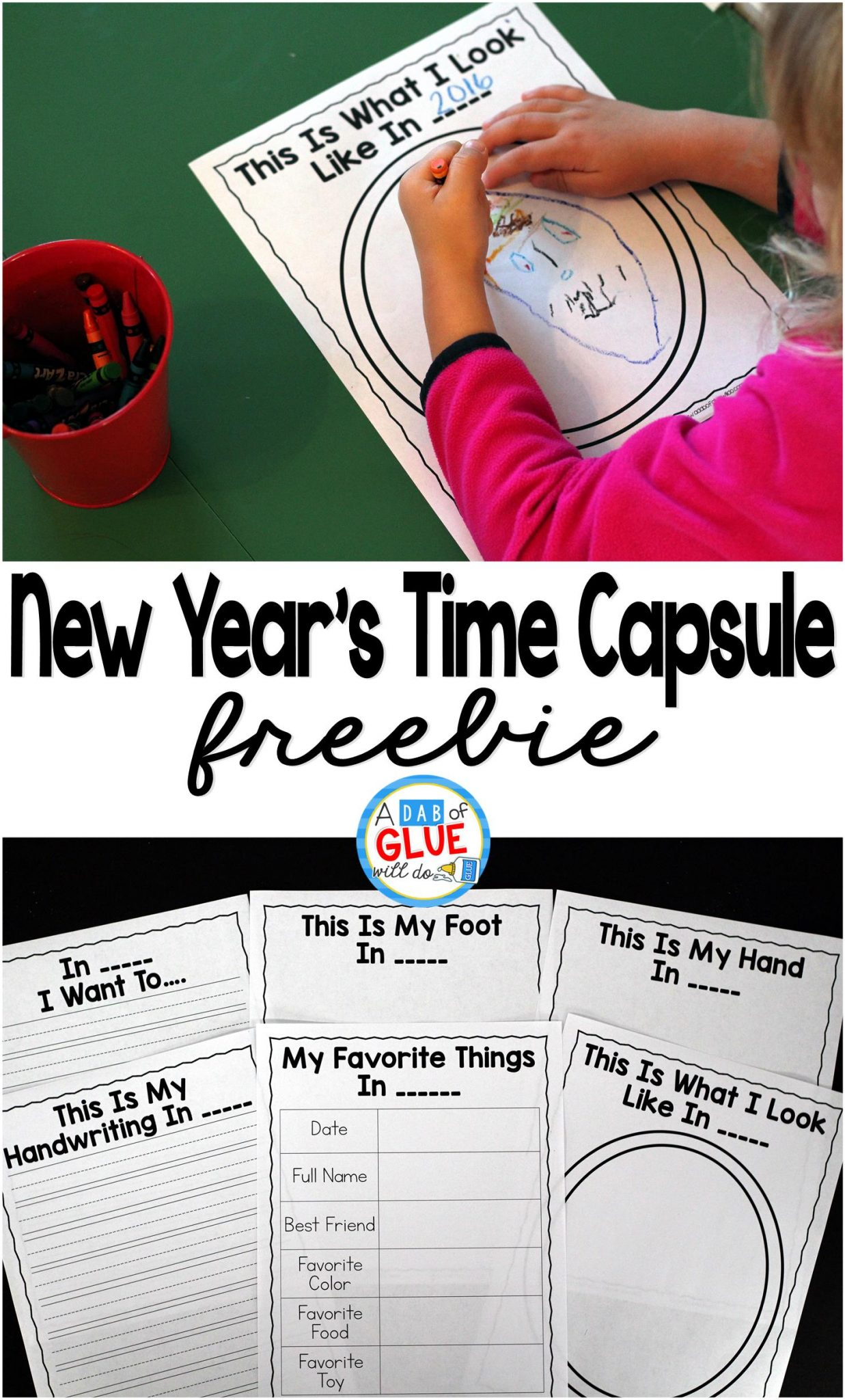 New Year S Time Capsule Ideas