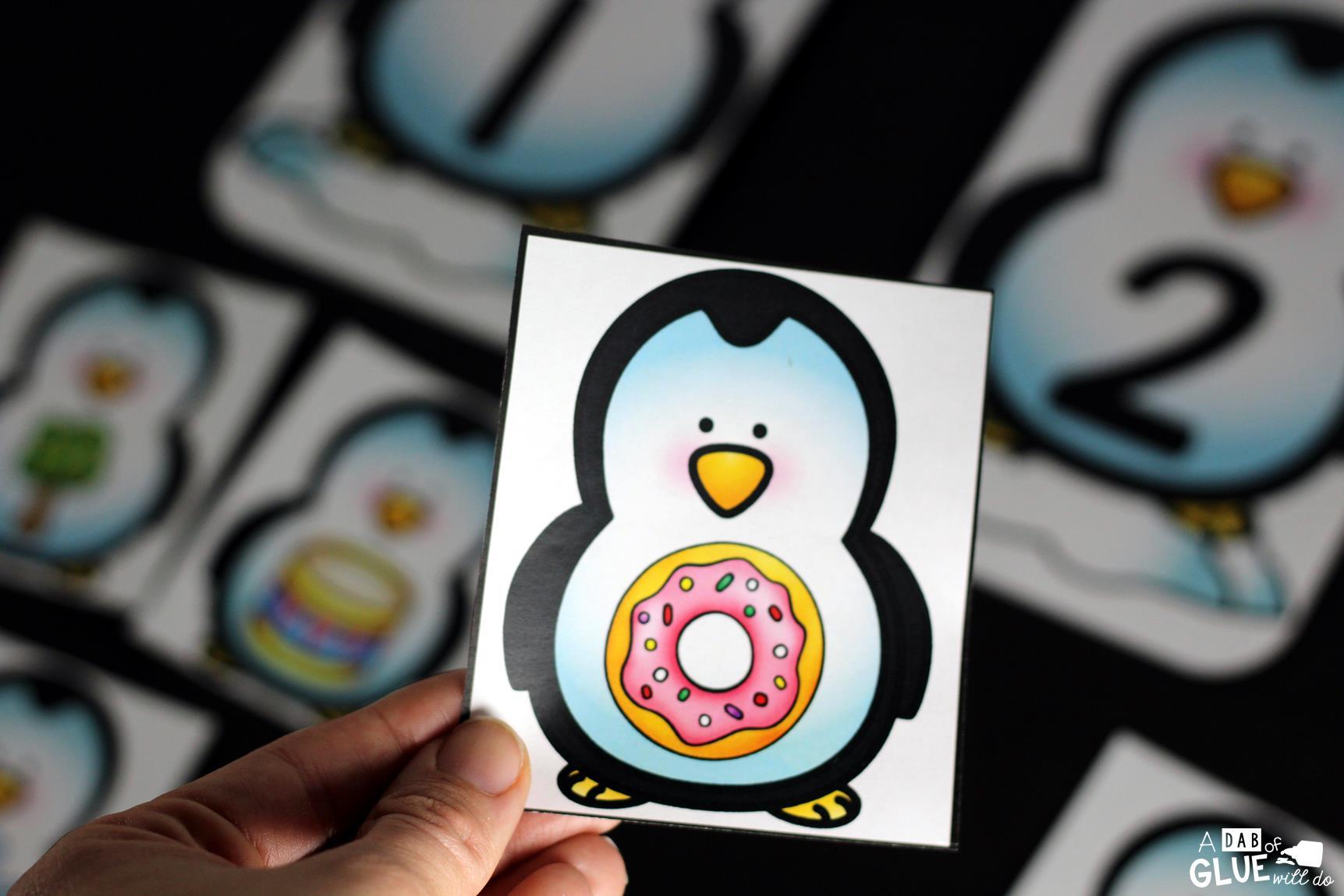 Penguin Syllable Sort Printable