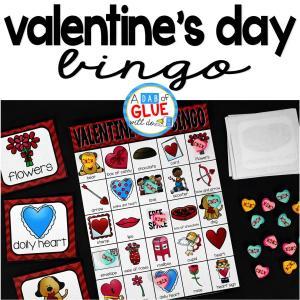 Bingo Sheets For Valentine's Day