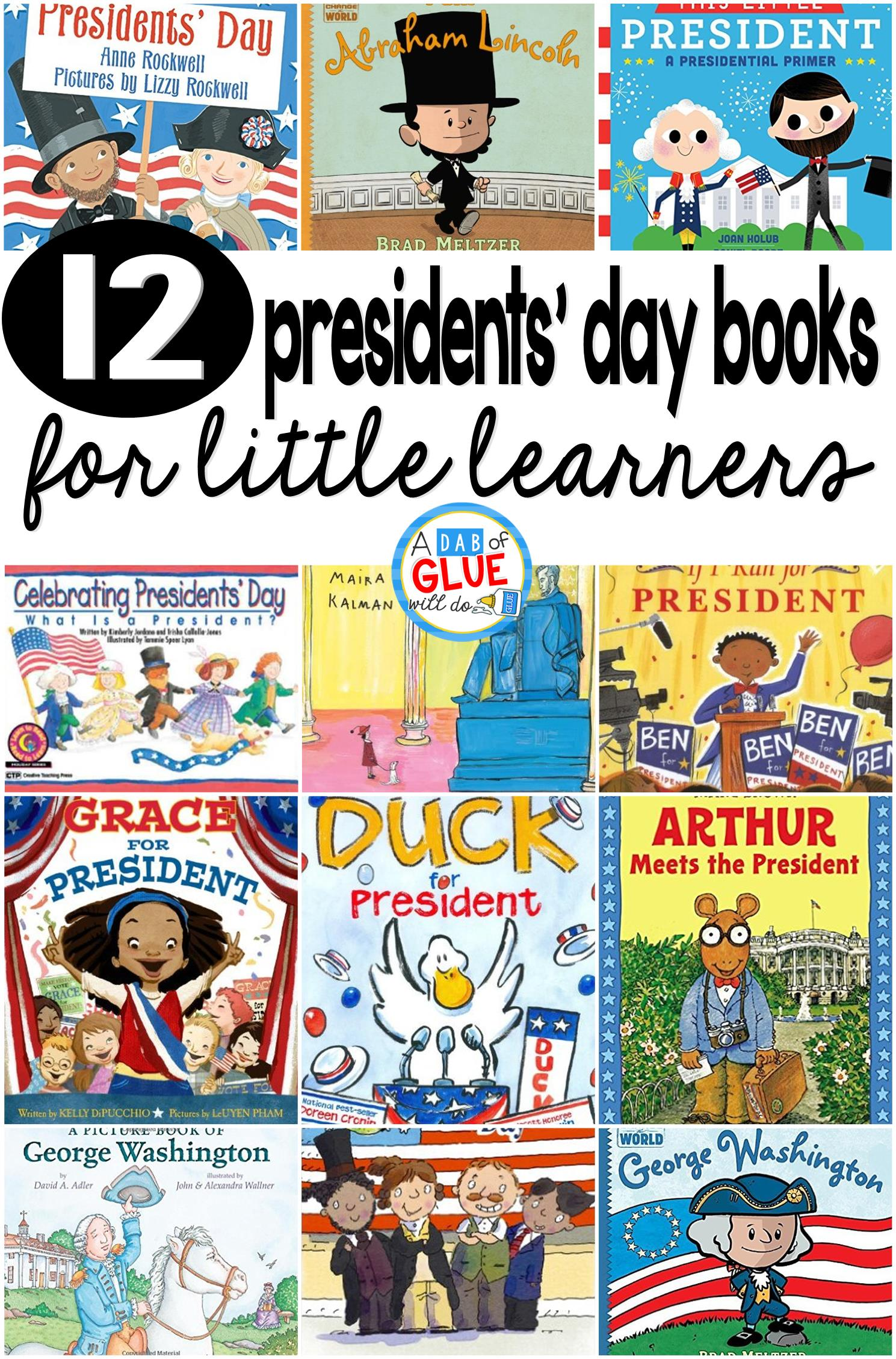 12 Presidents Day Books For Little Learners