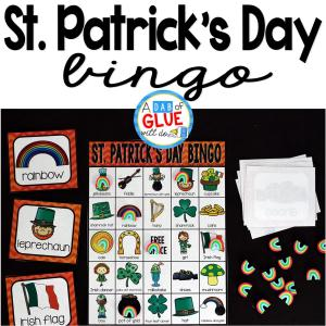 Bingo Sheets for St. Patrick's Day