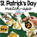 Make learning fun with these themed Initial Sound and Number Match-Ups. Your elementary age students will love this fun St. Patrick's Day themed literacy center and math center! Perfect for literacy stations, math stations, or small review groups. Use in your Preschool, Kindergarten, and First Grade classrooms. Black and white options available to save your color ink.
