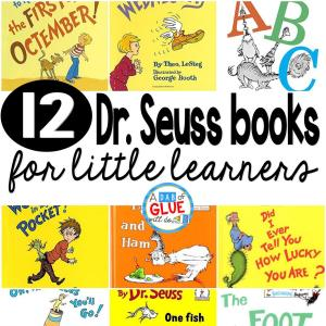 12 Dr. Seuss Books for Little Learners