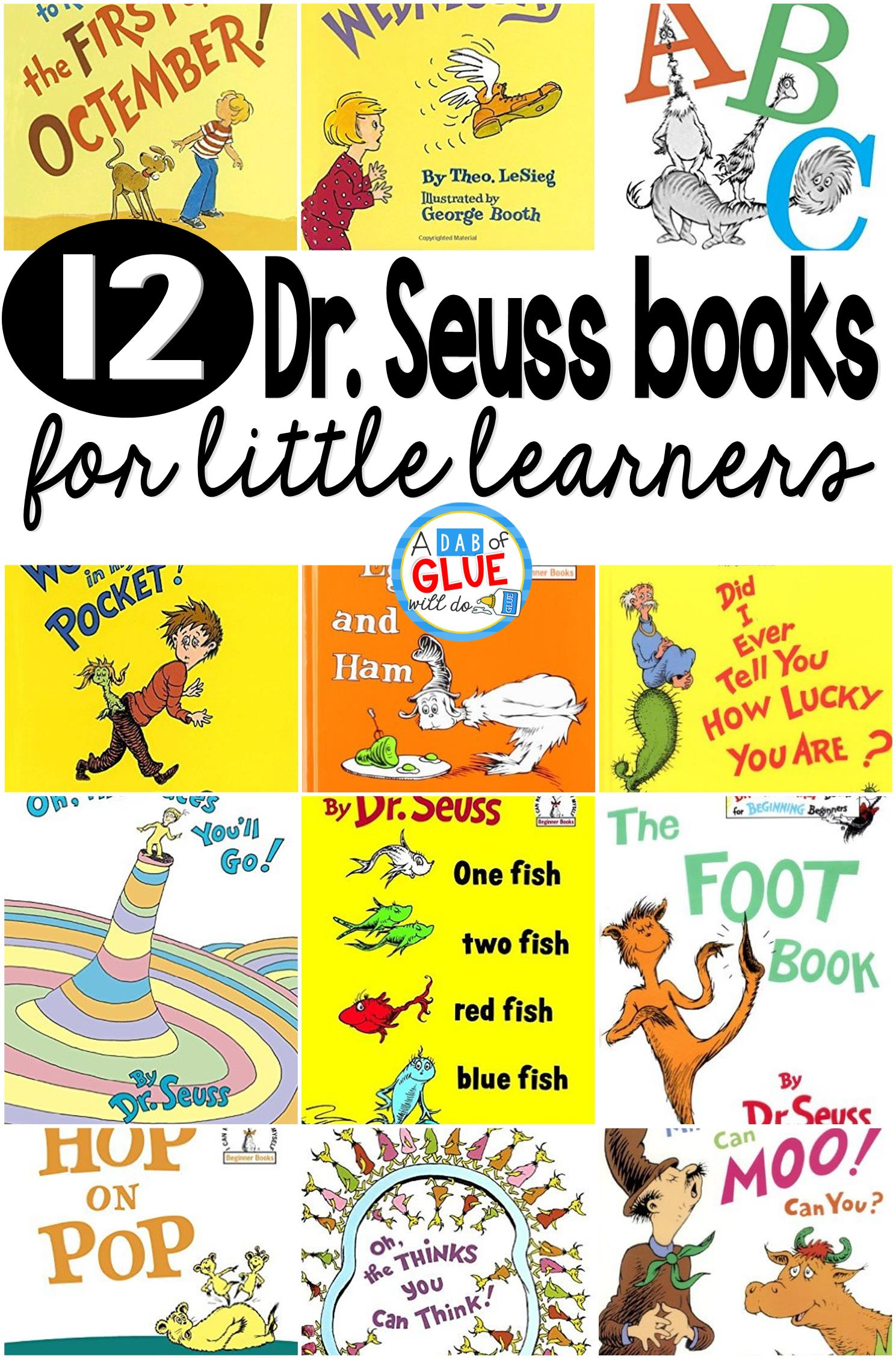 12 Dr Seuss Books For Little Learners