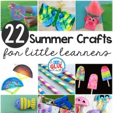 Summer Crafts for Little Learners