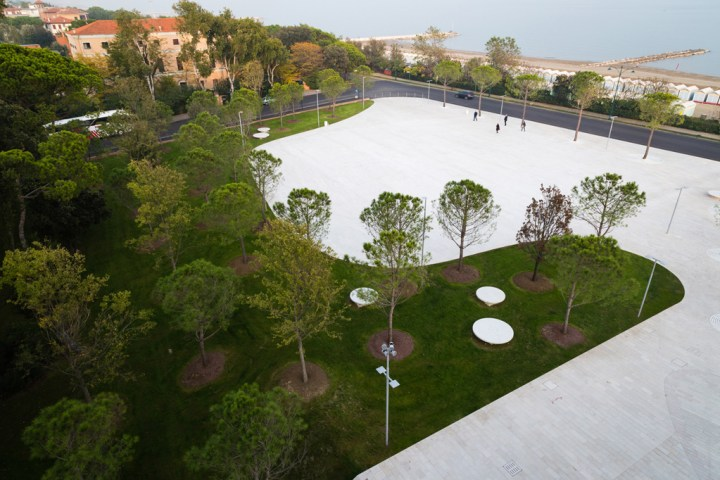 Piazza del Cinema, Lido di Venezia. Courtesy C+S Architects