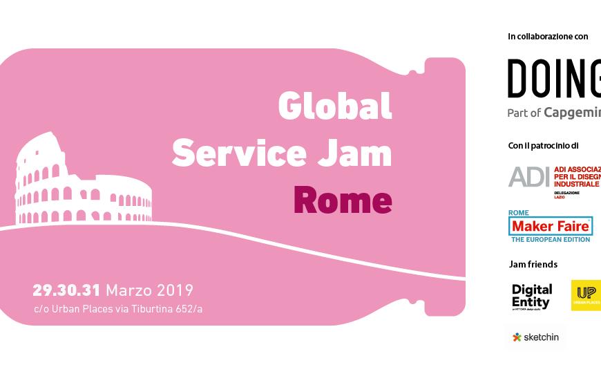 Locandina. Courtesy Rome Service Jam