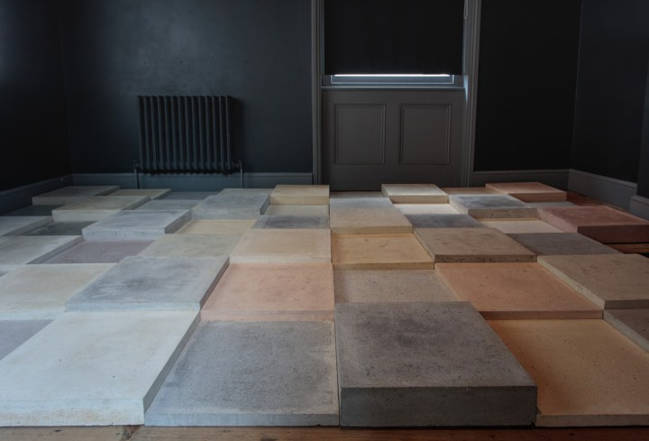 Poppy Whatmore, 'Walk All Over Me', Concrete Slabs, Variable Dimensions. Courtesy of the artist and Unit 1 Gallery | Workshop