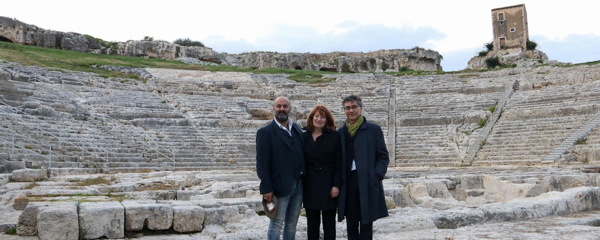 Livermore, Mayette, Calbi al Teatro Greco di Siracusa. Ph. Franca Centaro