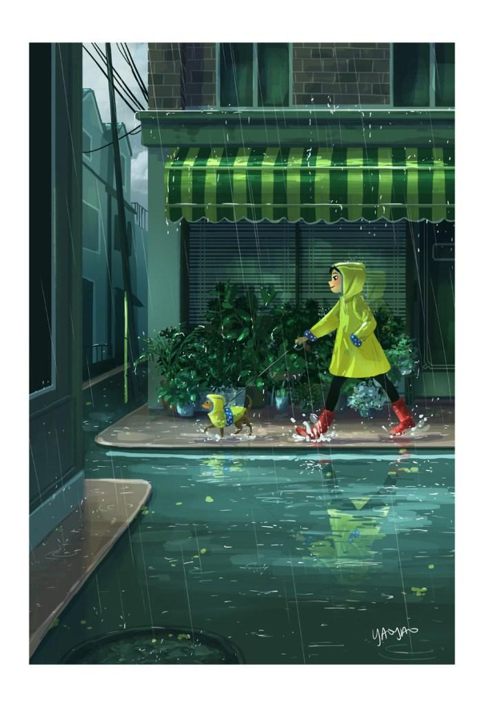 Yaoyao Ma Van As, Rain Or Shine - Rain. Courtesy the artist