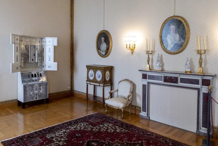 Quirinale Contemporaneo, Trumeau Architettura, Sala della Vittoria. Courtesy Quirinale