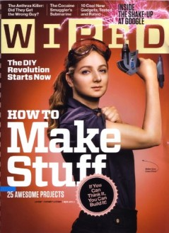 Sheryl Sandberg on the cover of Wired magazine