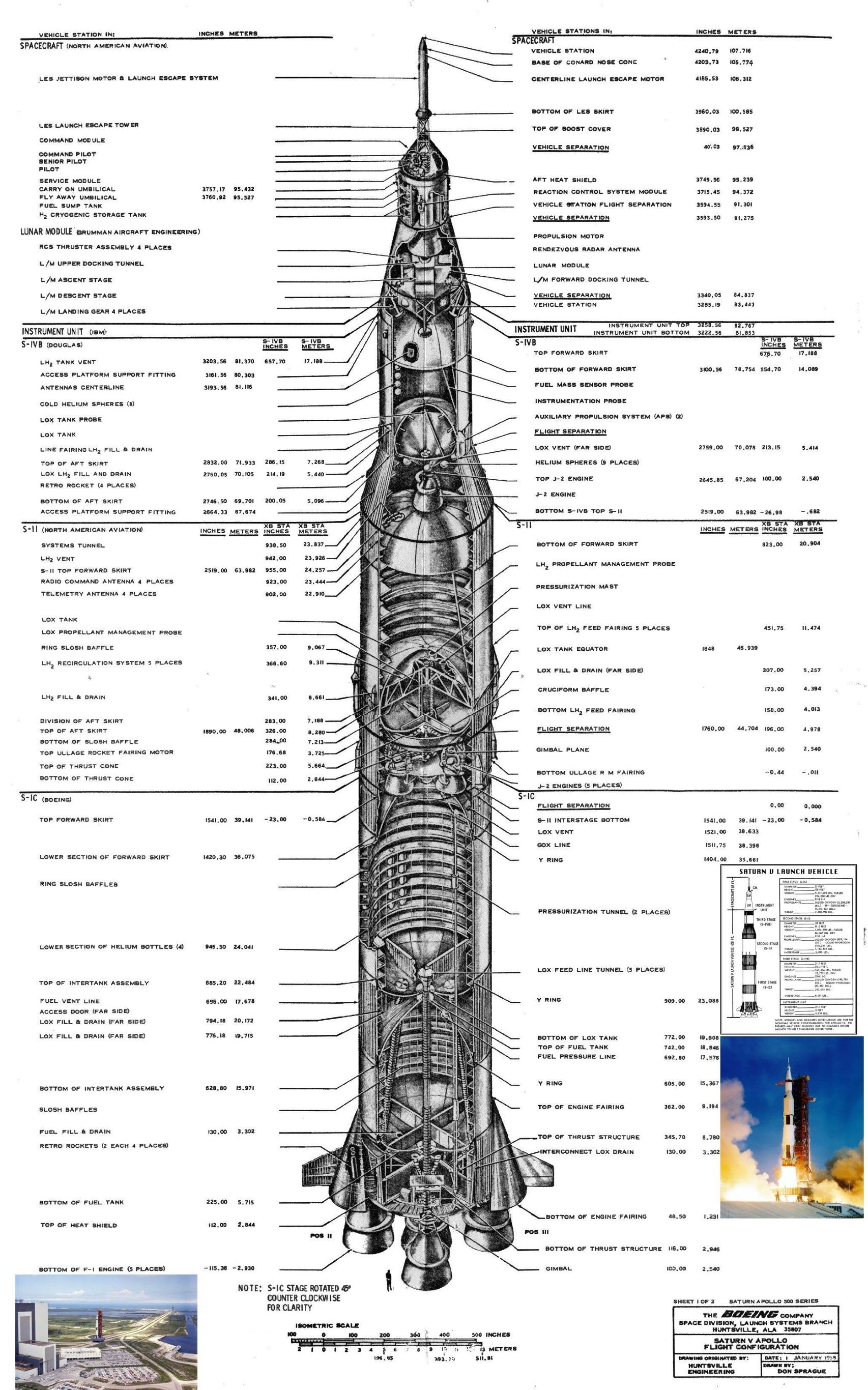 Diagram Of The Saturn V Rocket Cut In Half Adafruit