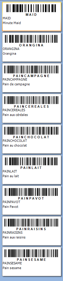 LABEL etiquettes