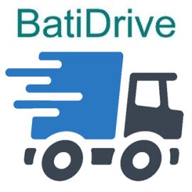 BatiDrive sur téléphone Androïd pour l'appovisionnement des chantiers BATIGEST