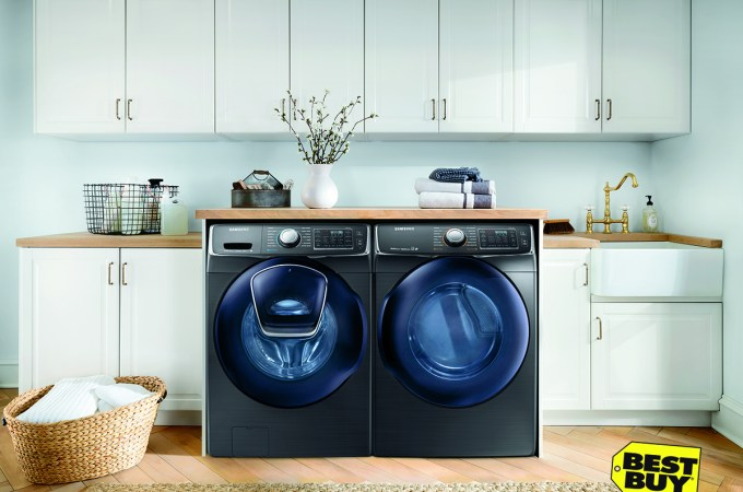You're a laundry star with ENERGY STAR rated appliances from Best Buy!