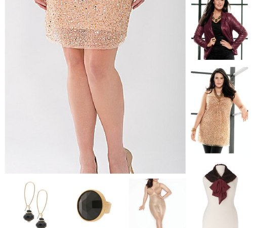 Lane Bryant Holiday Collection Outfit