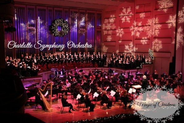 The Charlotte Symphony Orchestra {Magic of Christmas}