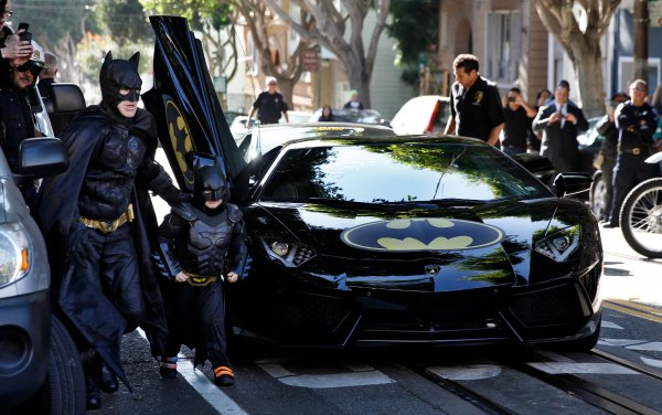 Miles, Make-A-Wish and the #SFBatKid