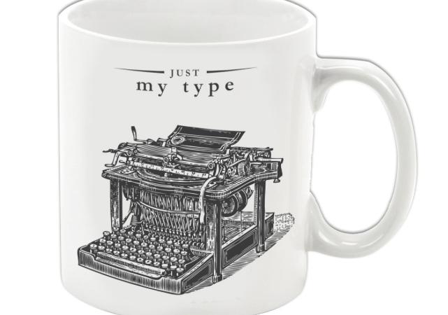 Just My Type Coffee Mug