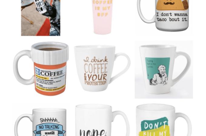 Coffee mug love.