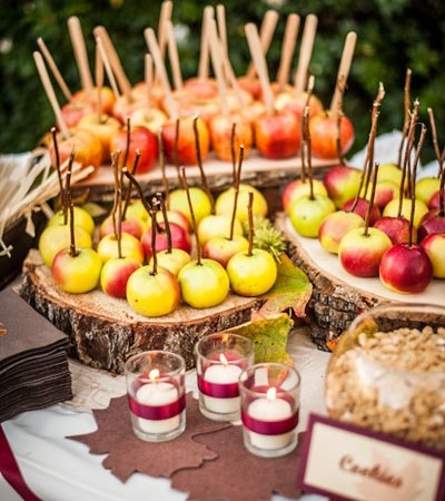 Entertaining with apples for autumn