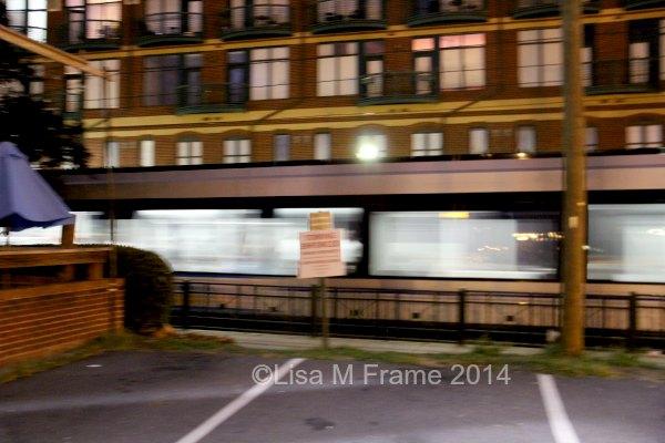 Charlotte, NC Light Rail After Dark