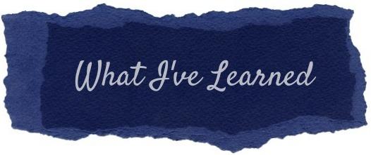 What I've Learned — Friendship {Week 10}