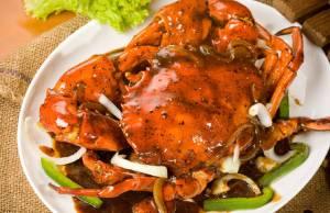 Resep Kepiting Lada Hitam