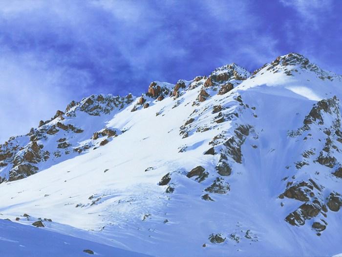 Switzerland St.Moritz Diavolezza Attew Painting Landscape artist art ski snowboard mountain winter Snow Alpine Alps Montagne Alpes