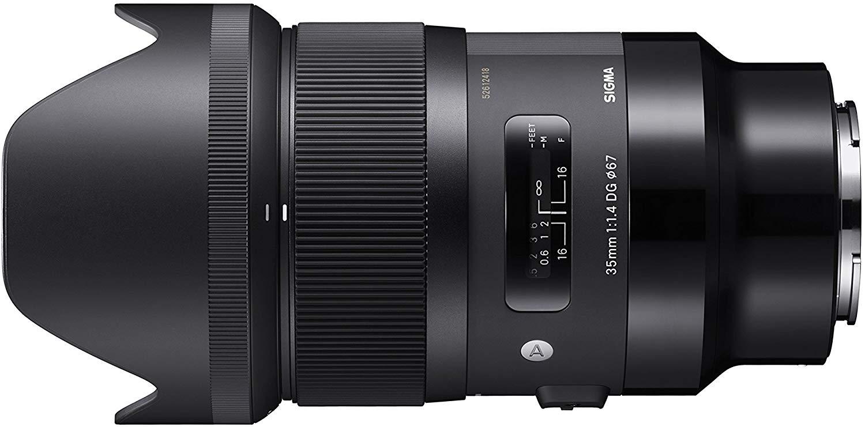 Sigma 35mm F1.4 DG HSM Lens (Sony E Mount)