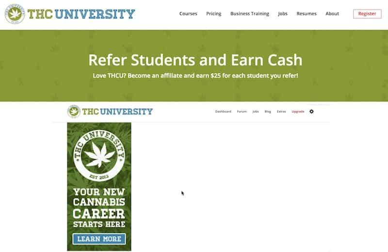 Programas de afiliados de marihuana