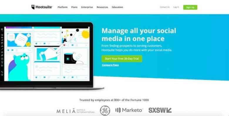 I migliori strumenti di gestione dei social media: Hootsuite