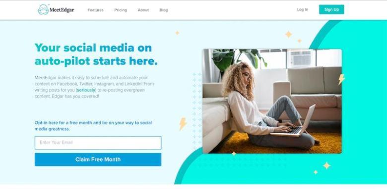 I migliori strumenti di gestione dei social media: MeetEdgar