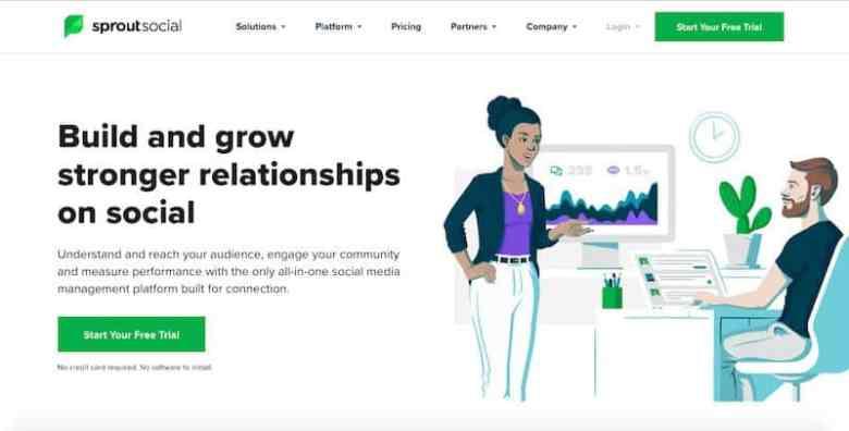 I migliori strumenti di gestione dei social media: Sprout Social