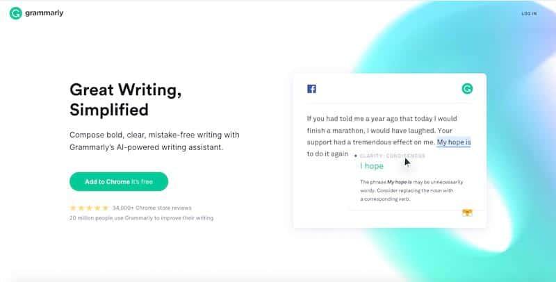 Grammatica - Miglior strumento di controllo grammaticale