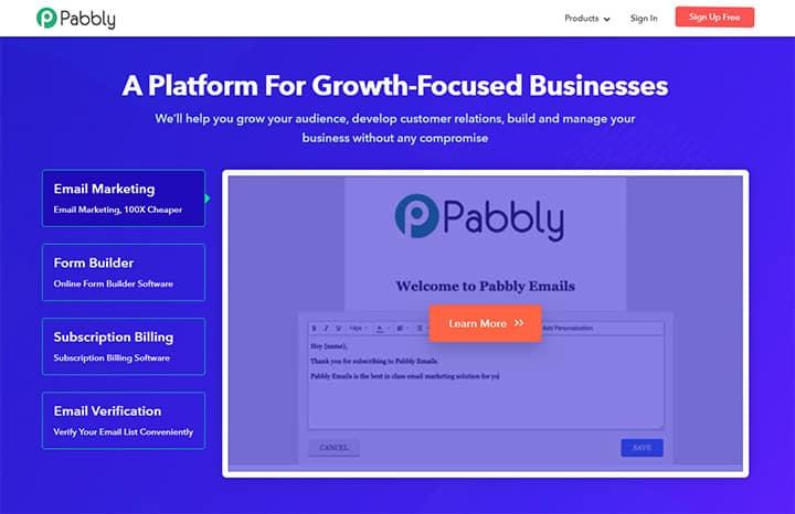 Programa de afiliados de Pabbly