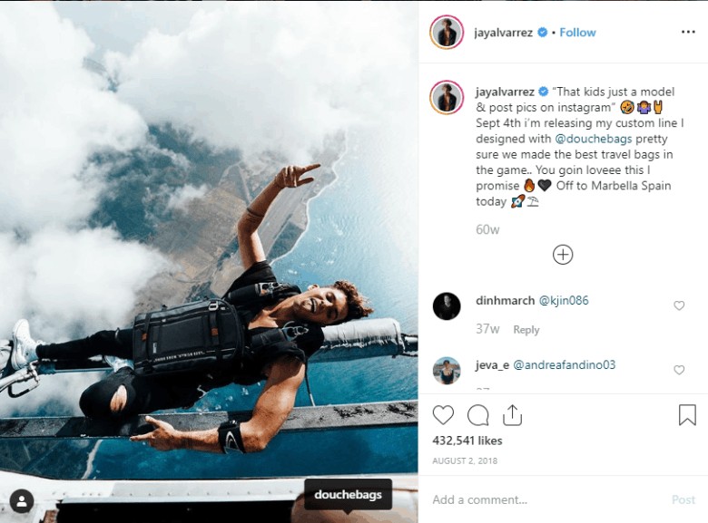Jay Alvarrez Instagram