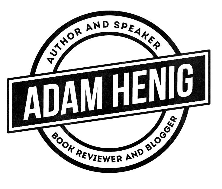 Adam has a new website, logo…Book Talk, 10/20