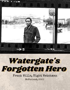 Frank Wills, Watergate Night Watchman