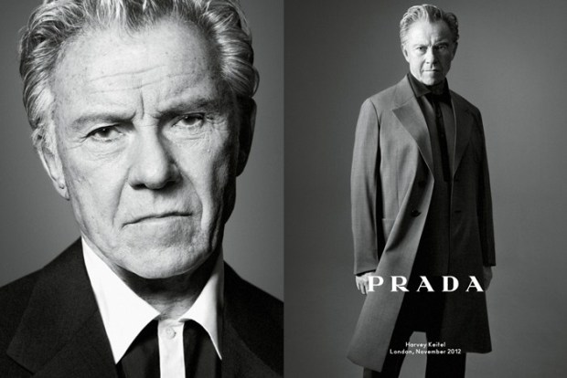 PRADA Harvey Keitel