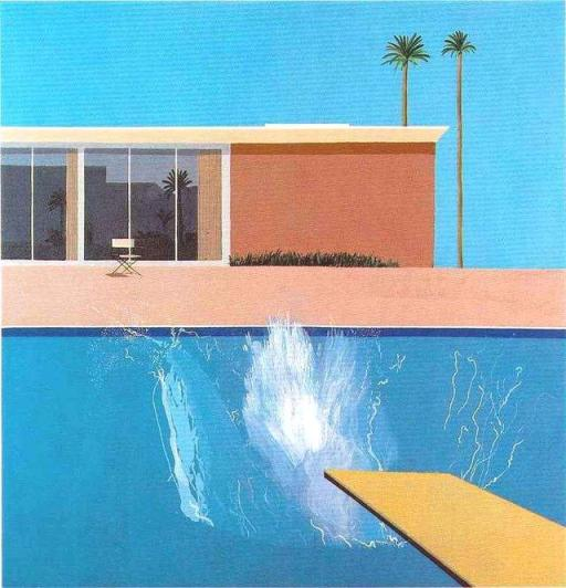 a bigger splash david hockney 1967