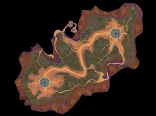 blood gultch map from Halo