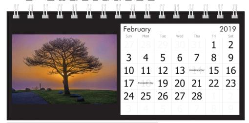 February 2019 Sunset
