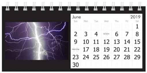 June 2019 Lightning Strikes